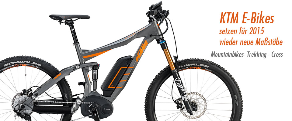 KTM E-Bikes